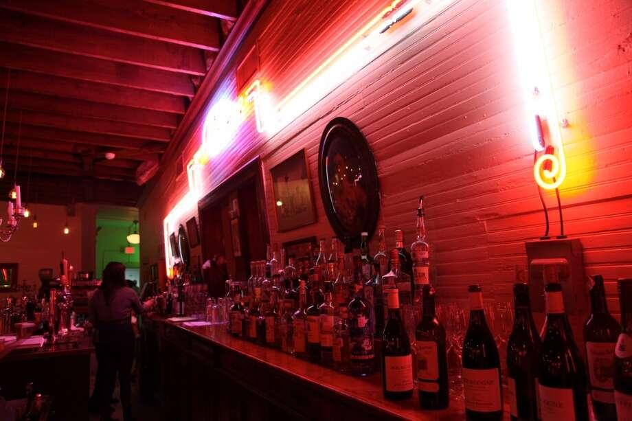 The bar at Minnies' Tavern. Photo: Express-News, File