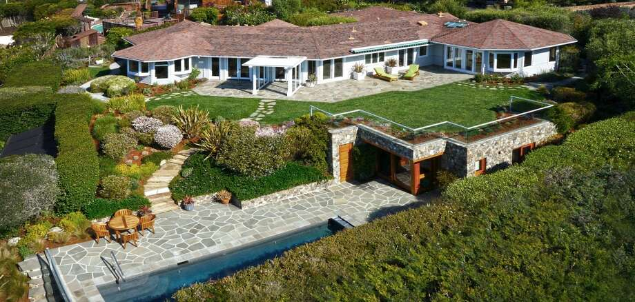 The property from above. Photo by Aerial  Media International, courtesy Coldwell Banker.