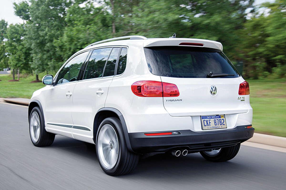 2014 Volkswagen Tiguan SEL 4Motion (photo courtesy Volkswagen)