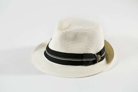 c260917e92fe6 The Trumpet hat ( 50) from Goorin Brothers  Cuba Libre collection is seen on