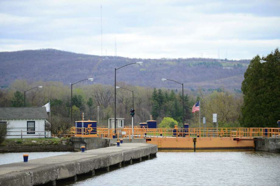 View of Lock 5 looking east Monday, May, 5, 2014, in Waterford, N.Y. The State Canal System opened for the season Monday. (Will Waldron/Times Union) Photo: WW / 00026761A