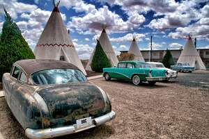 Wigwam Motel , San Bernardino    Craving a weekend away that's more retro and low-key than glamorous? Consider the California Wigwam Motel on Route 66. Built in 1949, it's one of the few remaining Wigwam Motels in the United States and delivers up a cone-shaped slice of Americana.