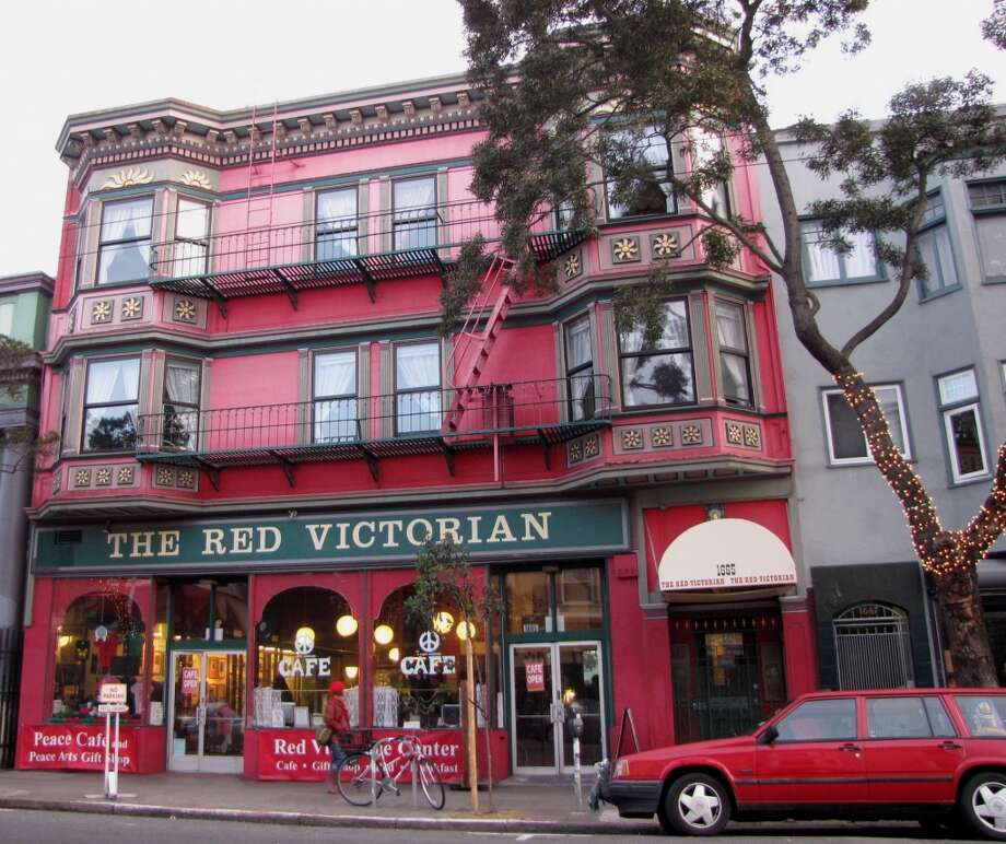 Red Victorian, San Francisco Guests will find themed rooms and hippie history at this iconic Haight Street B&B, which moonlights as the Peaceful World Center run by founder Sami Sunchild.  Photo: Stephanie Wright Hession