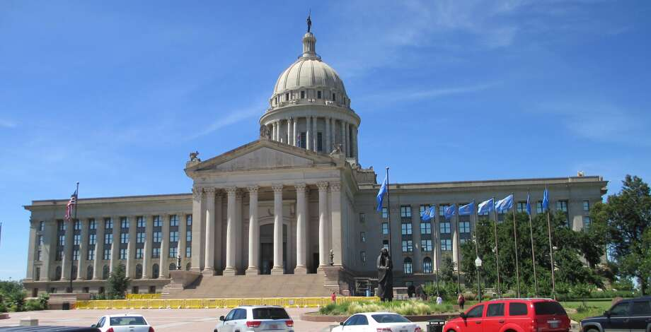 The Oklahoma State Capitol building is in Oklahoma City. (Getty Images)