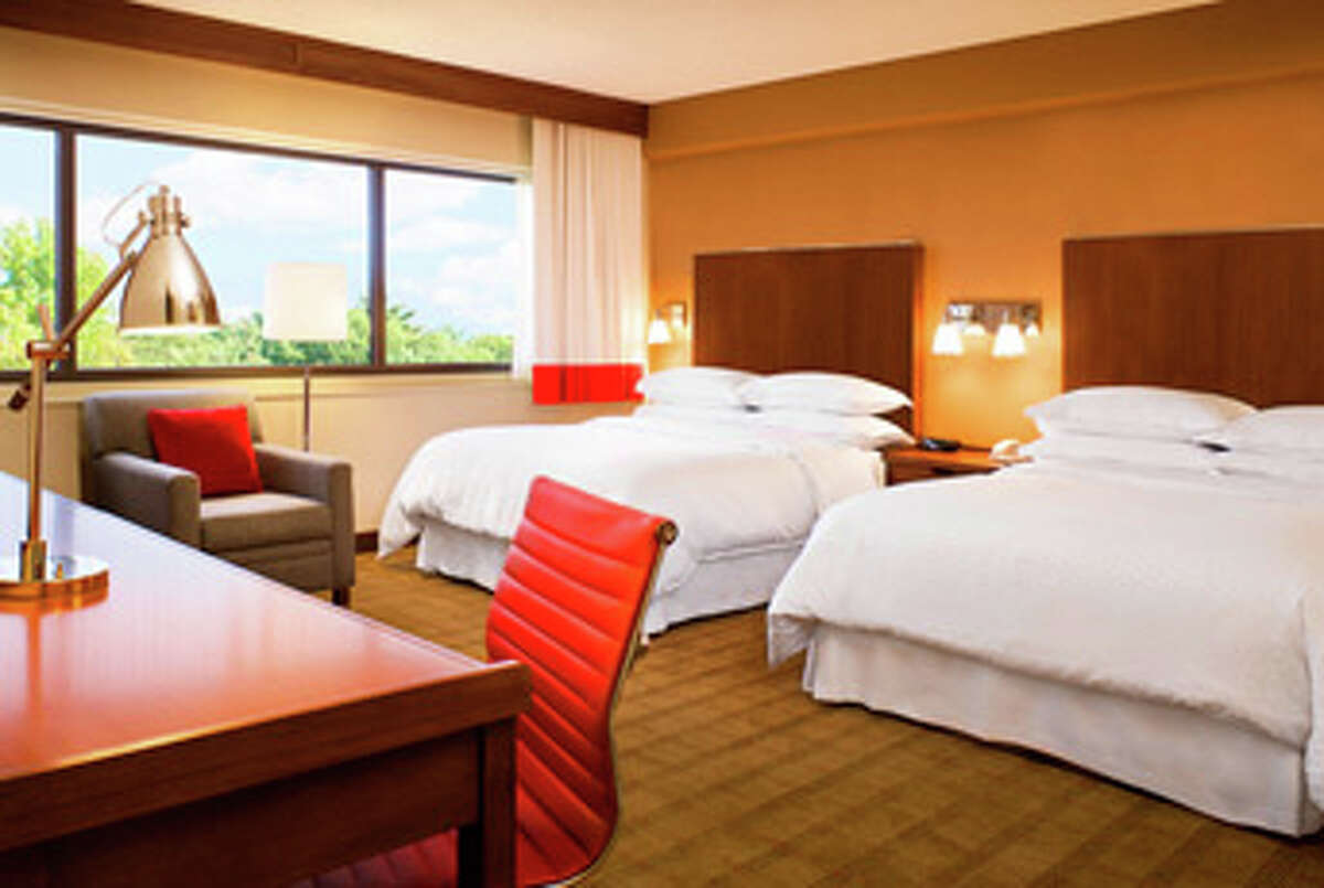A room in the newly-opened Four Points by Sheraton Phoenix South, a Starwood Hotels & Resorts property.