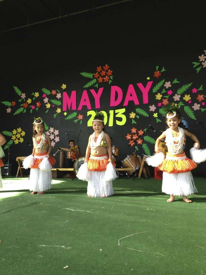 The 30th annual May Day Festival in Pleasanton features Hawaiian dance and music performances.