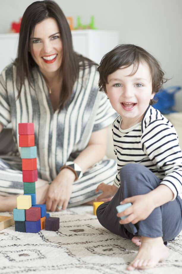 Moms Project mothers: designer Lauren Podoll and son Dashiell Photo: Lauri Levenfeld, Zoom Photography