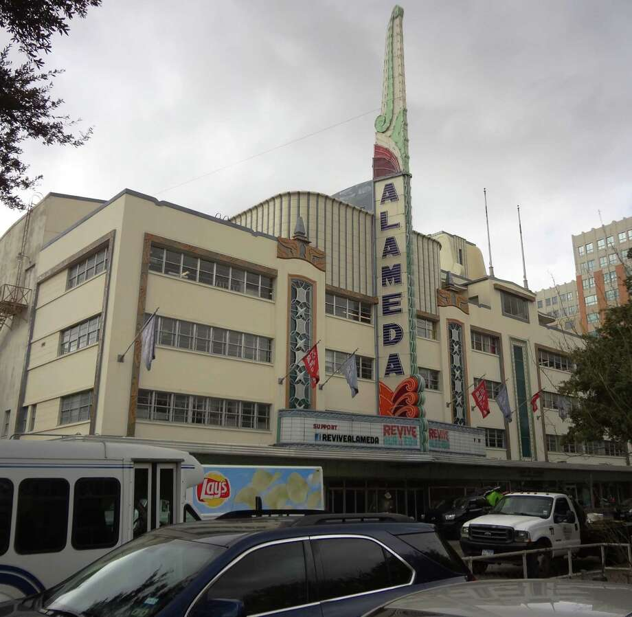 "The Alameda Theater, housed in the International Building, is ""the heart of San Antonio,"" said Ernest Bromley, who is spearheading the venerable theater's restoration. Photo: Steve Bennett / San Antonio Express-News / San Antonio Express-News"