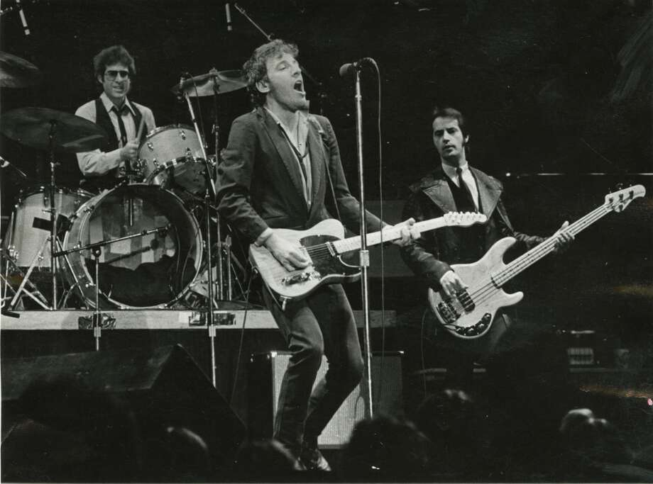 A photo from a December 8,  1978 Bruce Springsteen concert at The Summit.See more photos of The Boss in action in Houston... Photo: Houston Chronicle
