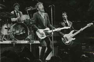 A photo from a December 8,  1978 Bruce Springsteen concert at The Summit.