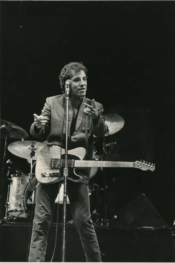 Bruce Springsteen plays a two-night stand at The Summit in 1980 touring behind The River, on November 14 and November 15. Photo: Houston Chronicle