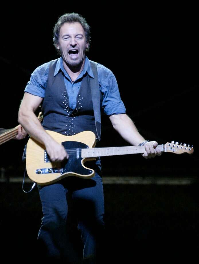 Bruce Springsteen performs in concert with The E Street Band at the Compaq Center November 4,2002. James Nielsen (Special to the Chronicle Photo: Special To The Chronicle