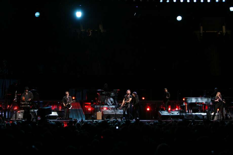 Bruce Springsteen and the E Street Band perform Monday, April 14, 2008, at the Toyota Center in Houston. Photo: Kevin Fujii, Houston Chronicle