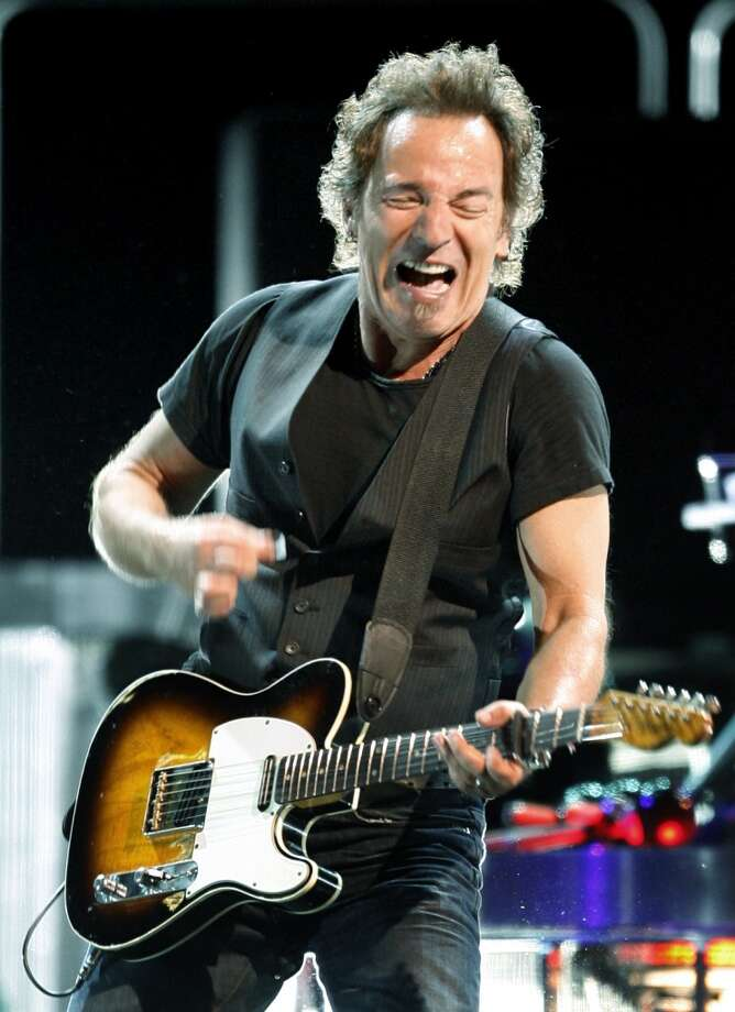 Bruce Springsteen performs with the E Street Band Monday, April 14, 2008, at the Toyota Center in Houston. Photo: Kevin Fujii, Houston Chronicle