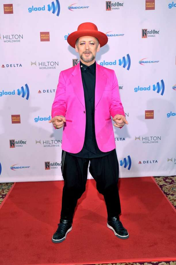 Boy George attends the 25th Annual GLAAD Media Awards on May 3, 2014 in New York City. Photo: Stephen Lovekin, Getty Images For GLAAD