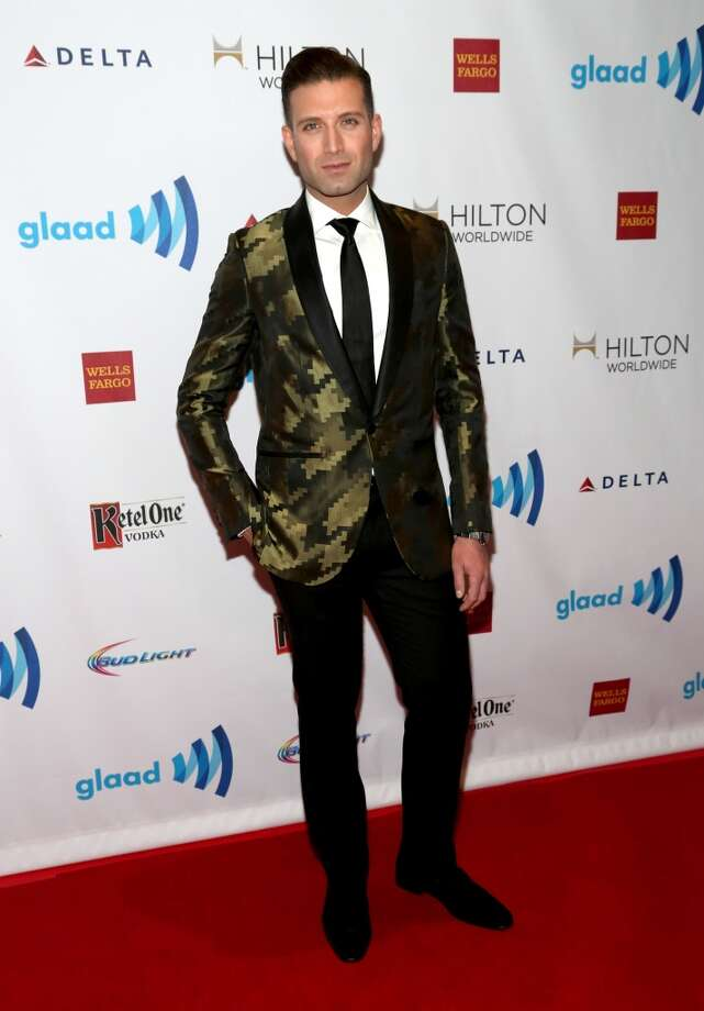 Omar Sharif, Jr. attends the 25th Annual GLAAD Media Awards on May 3, 2014 in New York City. Photo: Paul Zimmerman, WireImage