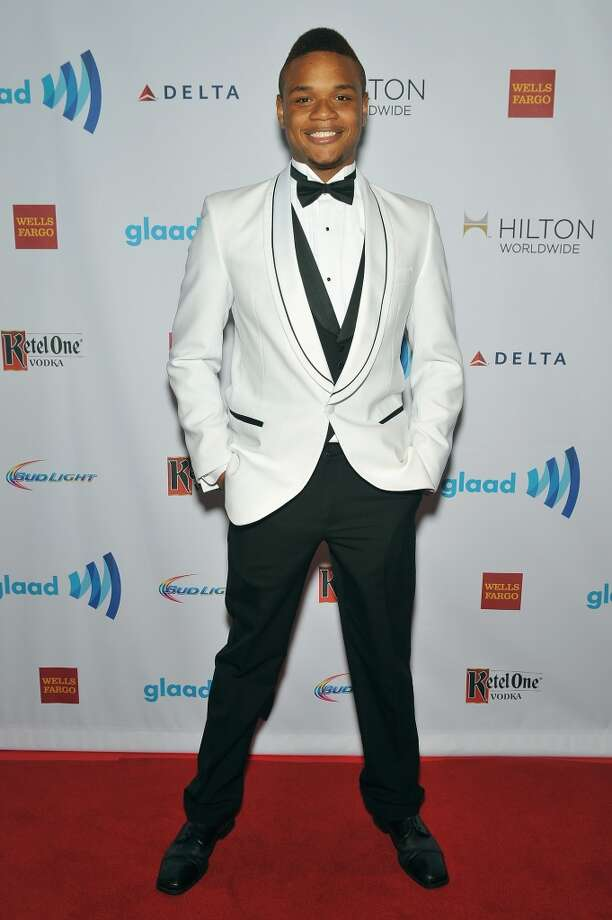 Derrick Gordon attends the 25th Annual GLAAD Media Awards In New York on May 3, 2014 in New York City. Photo: D Dipasupil, Getty Images For GLAAD