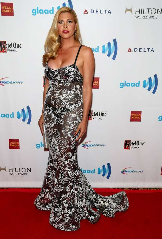 Candis Cayne attends the 25th Annual GLAAD Media Awards on May 3, 2014 in New York City. Photo: Paul Zimmerman, WireImage