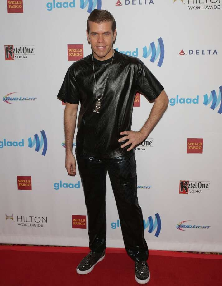 Perez Hilton attends 25th Annual GLAAD Media Awards at The Waldorf=Astoria on May 3, 2014 in New York City. Photo: Andrew Toth, FilmMagic