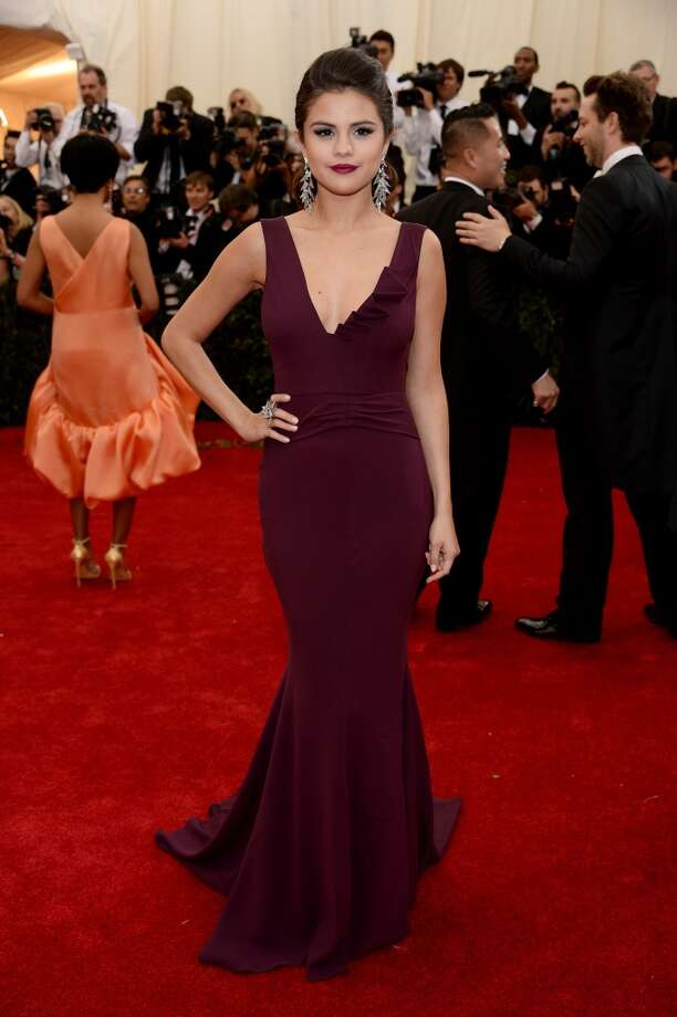 "Selena Gomez attends the ""Charles James: Beyond Fashion"" Costume Institute Gala at the Metropolitan Museum of Art on May 5, 2014 in New York City. Photo: Dimitrios Kambouris, Getty Images"
