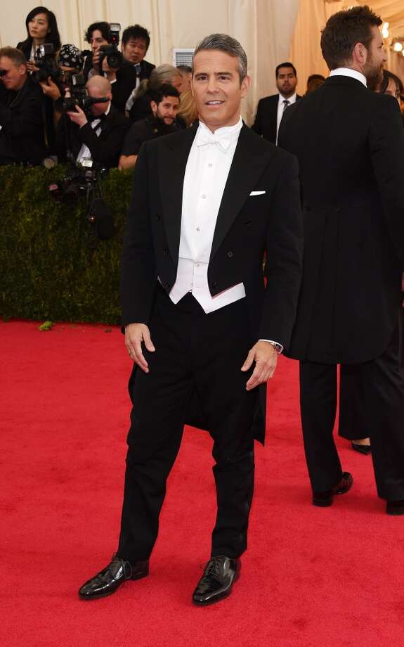 "Andy Cohen attends the ""Charles James: Beyond Fashion"" Costume Institute Gala at the Metropolitan Museum of Art on May 5, 2014 in New York City. Photo: Larry Busacca, Getty Images"
