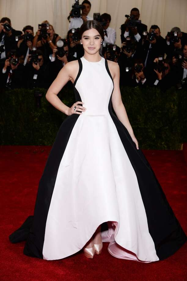"Actress Hailee Steinfeld attends the ""Charles James: Beyond Fashion"" Costume Institute Gala at the Metropolitan Museum of Art on May 5, 2014 in New York City. Photo: Dimitrios Kambouris, Getty Images"