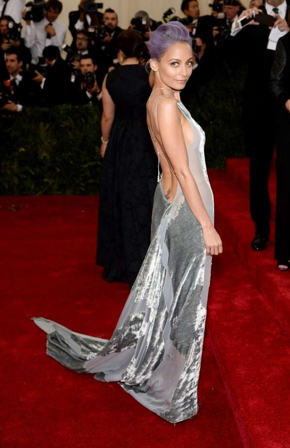 "Nicole Richie attends the ""Charles James: Beyond Fashion"" Costume Institute Gala at the Metropolitan Museum of Art on May 5, 2014 in New York City. Photo: Dimitrios Kambouris, Getty Images"