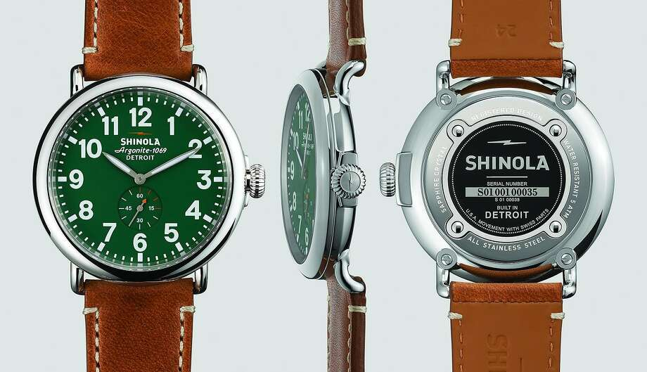 Shinola Runwell 41mm watch ($550) is among the special 20th anniversary offerings at Steven Alan Hayes Valley.