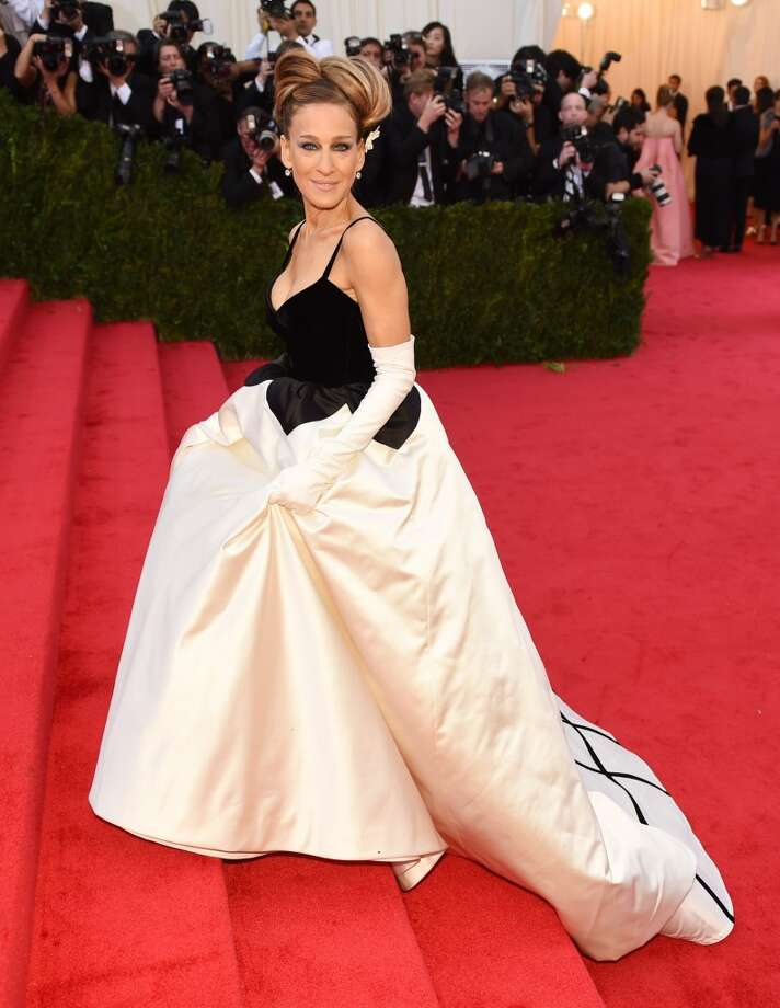 Sarah Jessica Parker arrives at the Costume Institute Benefit at the Metropolitan Museum of Art on May 5, 2014 in New York. Photo: TIMOTHY A. CLARY, AFP/Getty Images