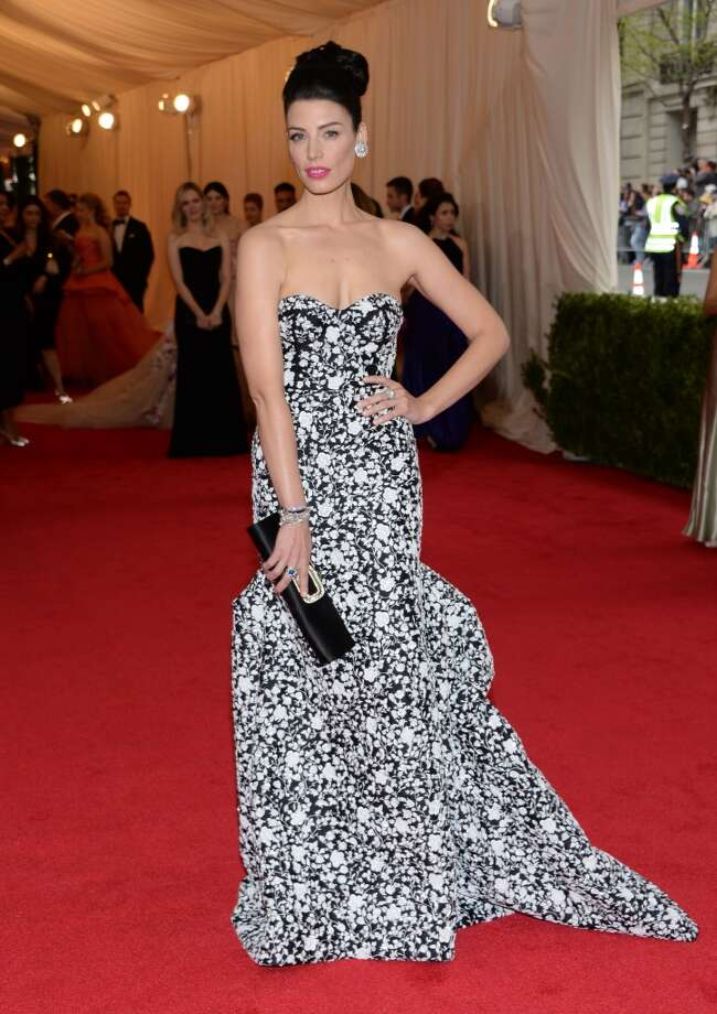 "Jessica Pare attends The Metropolitan Museum of Art's Costume Institute benefit gala celebrating ""Charles James: Beyond Fashion"" on Monday, May 5, 2014, in New York. Photo: Evan Agostini, Associated Press"