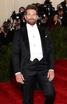 "Actor Bradley Cooper attends the ""Charles James: Beyond Fashion"" Costume Institute Gala at the Metropolitan Museum of Art on May 5, 2014 in New York City. Photo: Dimitrios Kambouris, Getty Images"