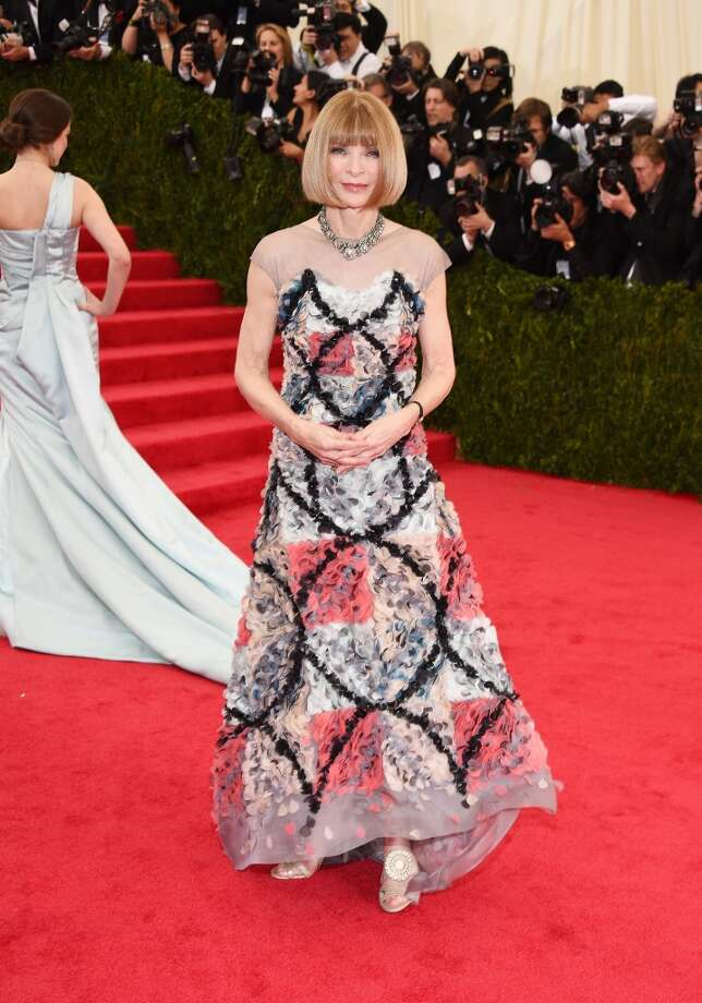 "Vogue Editor in Chief Anna Wintour attends the ""Charles James: Beyond Fashion"" Costume Institute Gala at the Metropolitan Museum of Art on May 5, 2014 in New York City. Photo: Larry Busacca, Getty Images"