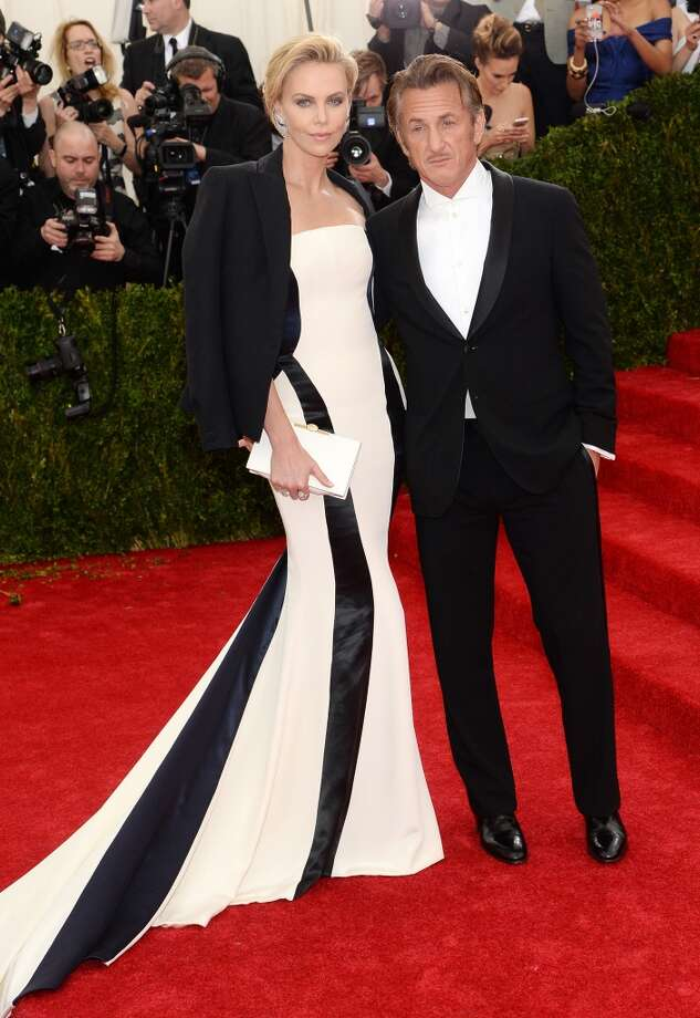 "Charlize Theron and Sean Penn attend the ""Charles James: Beyond Fashion"" Costume Institute Gala at the Metropolitan Museum of Art on May 5, 2014 in New York City. Photo: Dimitrios Kambouris, Getty Images"