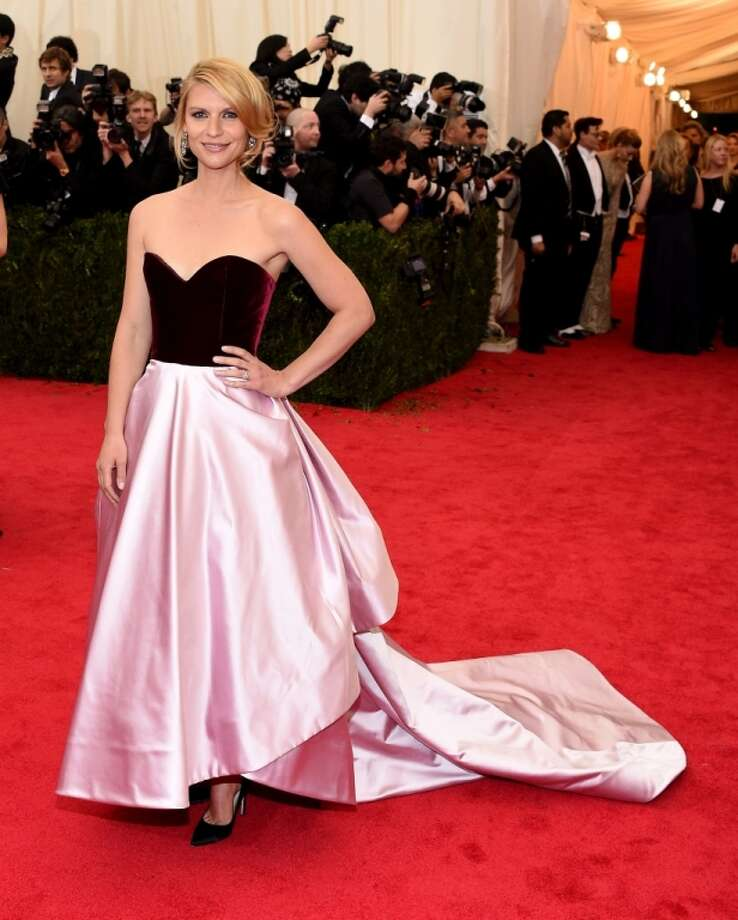 """Claire Danes attends the """"Charles James: Beyond Fashion"""" Costume Institute Gala at the Metropolitan Museum of Art on May 5, 2014 in New York City. Photo: Larry Busacca, Getty Images"""