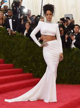 Rihanna arrives at the Costume Institute Benefit at The Metropolitan Museum of Art May 5, 2014 in New York. Photo: TIMOTHY A. CLARY, AFP/Getty Images