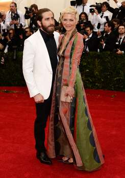 "Jake Gyllenhaal and Maggie Gyllenhaal attend the ""Charles James: Beyond Fashion"" Costume Institute Gala at the Metropolitan Museum of Art on May 5, 2014 in New York City. Photo: Dimitrios Kambouris, Getty Images"