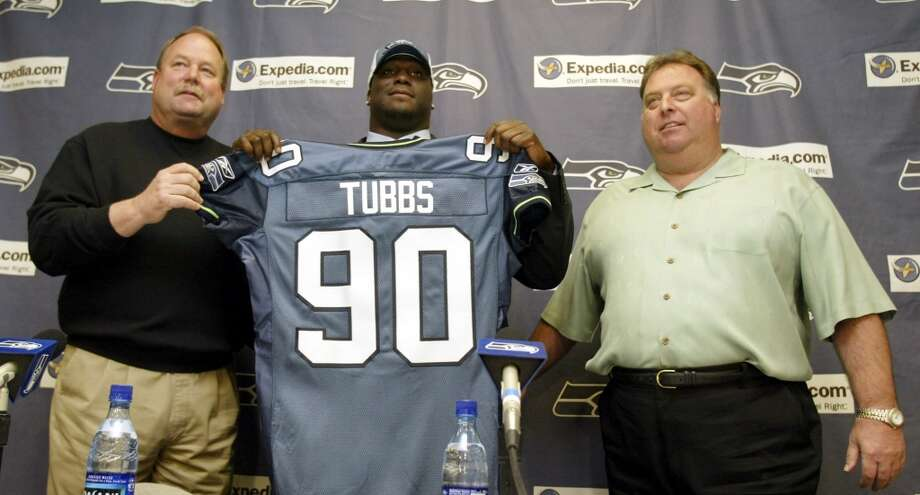 WORST6. Marcus Tubbs (2004)First round, 23rd-overall pick | Position: Defensive tackle | College: TexasIn 2005, the only relatively healthy season in Tubbs' career, he managed to start 11 games and pick up 5.5 sacks from his defensive tackle position. But after knee injuries cost him most of 2006 and all of 2007, his NFL career was over. Photo: Ted S. Warren, Associated Press