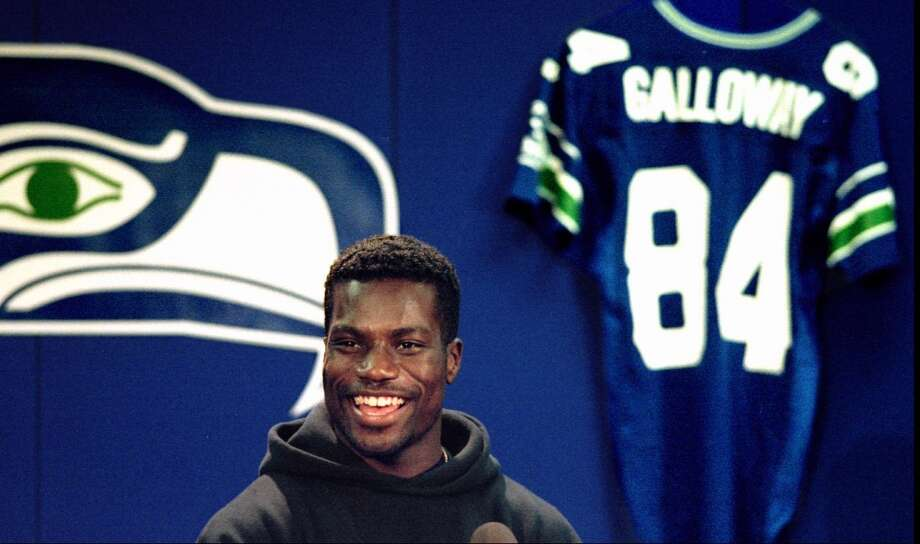 BEST  6. Joey Galloway (1995)First round, eighth-overall pick | Position: Wide receiver | College: Ohio State Galloway's career is a testament to longevity. He caught 283 passes for 4,457 yards and 37 scores in five years with the Seahawks, but had arguably the best season of his 16-year NFL career in 2005 with Tampa Bay, when he caught 83 passes for 1,287 yards and 10 touchdowns at age 34. Photo: Tom Marks, Seattle P-I Archives