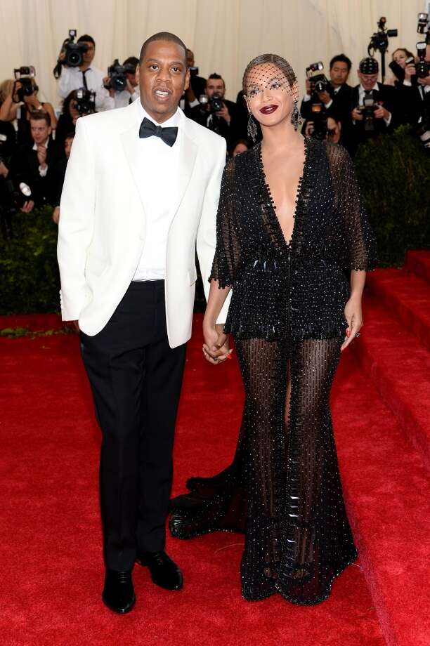 "Jay-Z and Beyonce attend the ""Charles James: Beyond Fashion"" Costume Institute Gala at the Metropolitan Museum of Art on May 5, 2014 in New York City. Photo: Dimitrios Kambouris, Getty Images"