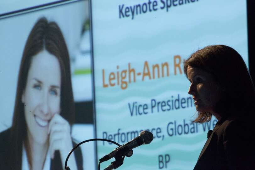 Leigh-Ann Russell Vice President Performance of Global Wells BP is the keynote speaker at The Next W