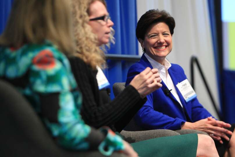 Lynne Hackerdorn, VP Government and Public Affairs in Cobalt, participates in the Women in the Indus