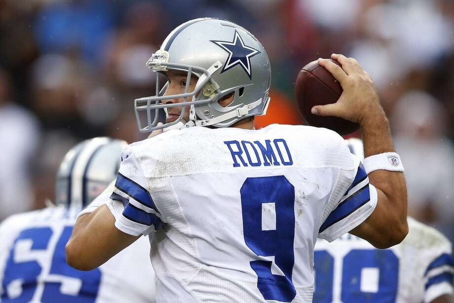 Undrafted  Tony Romo, Cowboys Photo: Evan Vucci, Associated Press