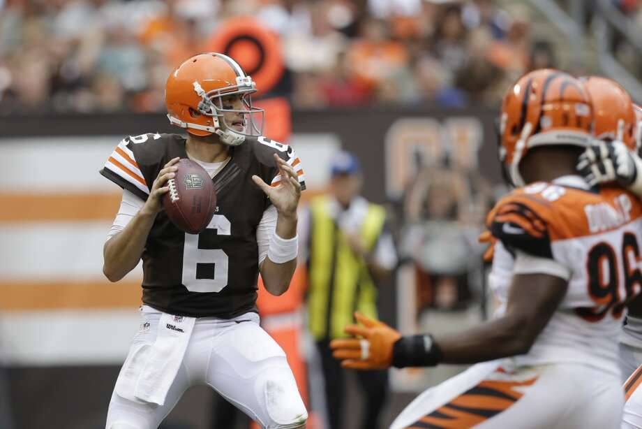 Undrafted  Brian Hoyer, Browns Photo: Tony Dejak, Associated Press