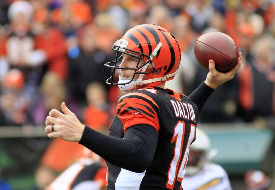 2nd round  Andy Dalton, Bengals Photo: Tom Uhlman, Associated Press