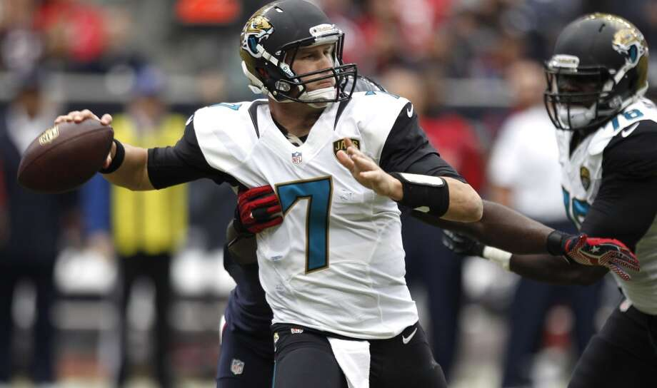 2nd round  Chad Henne, Jaguars Photo: Brett Coomer, Houston Chronicle