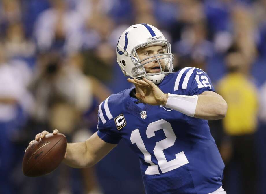 1st round  Andrew Luck, Colts Photo: Michael Conroy, Associated Press