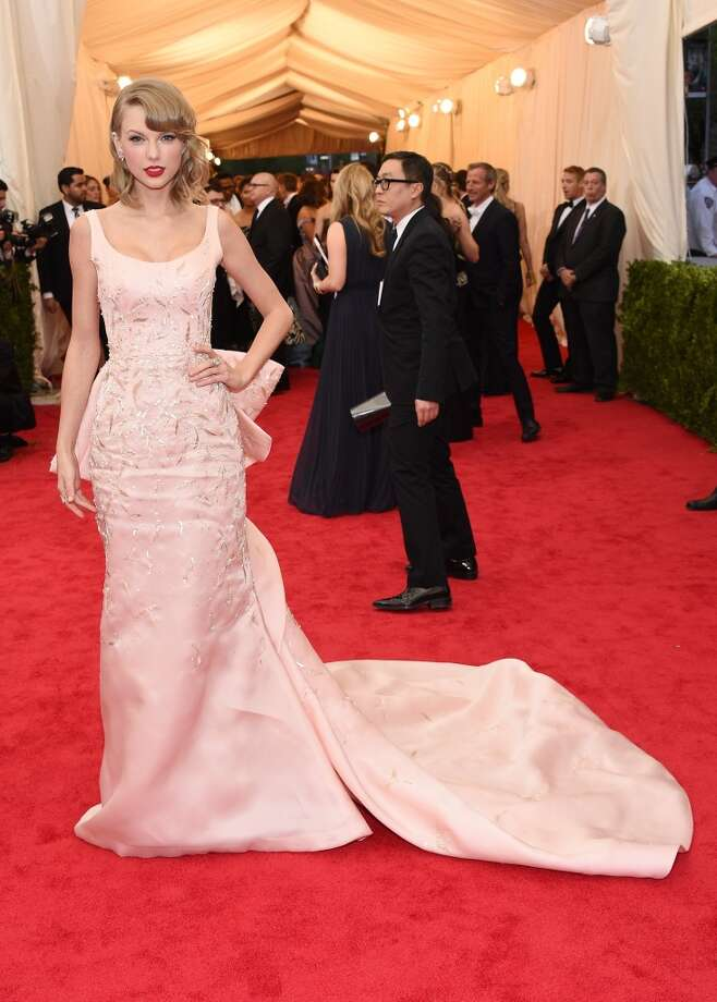"Musician Taylor Swift attends the ""Charles James: Beyond Fashion"" Costume Institute Gala at the Metropolitan Museum of Art on May 5, 2014 in New York City. Photo: Larry Busacca, Getty Images"