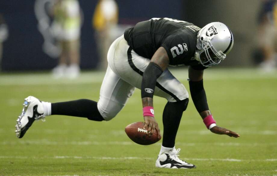 JaMarcus Russell, quarterback - 2007 NFL Draft, first round, first overallThere's no contest — JaMarcus is the worst. Next. Photo: Karen Warren, Houston Chronicle