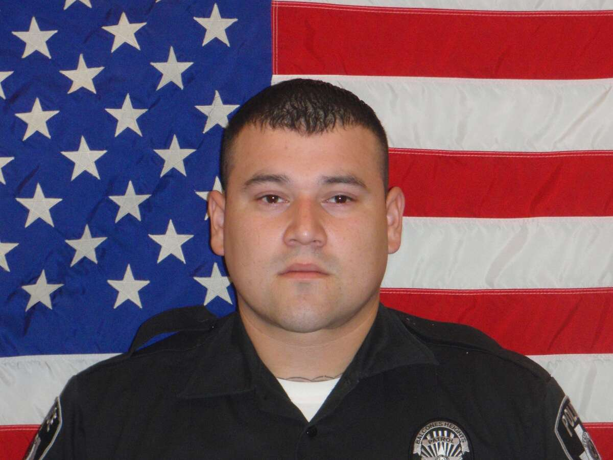 Julian Pesina, a Balcones Heights police officer, was shot and killed late Sunday, May 4, 2014, while off duty in Northwest San Antonio.