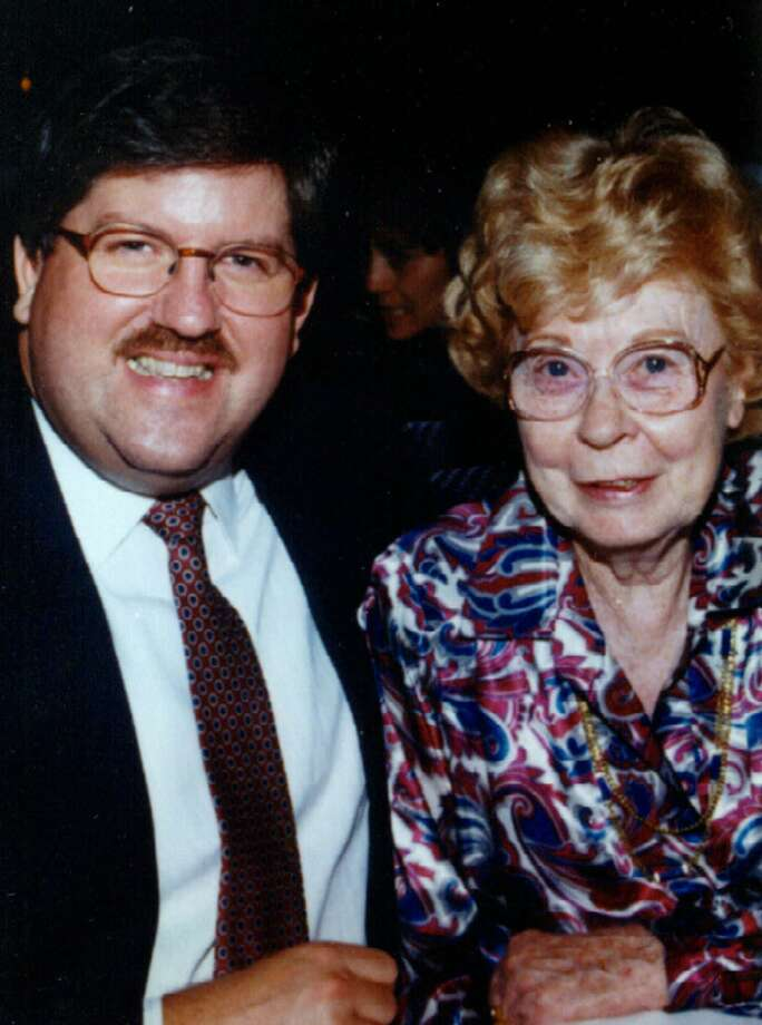A 1996 file photo provided by the Panola County Sheriff's Department of Marjorie Nugent and her former escort Bernie Tiede. Photo: AP / AP